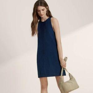 Aritzia Wilfred Summer Dress Linen